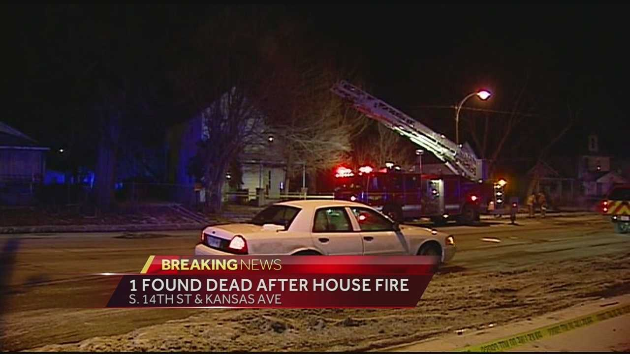 Police have opened a homicide investigation after a woman was found dead after a vacant home caught fire in Kansas City, Kan., overnight.