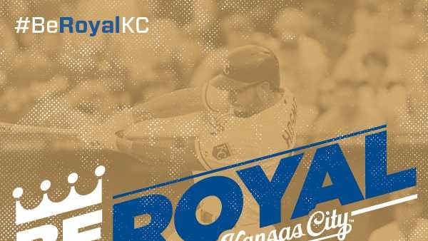 2014 Kansas City Royals slogan: 'Be Royal'