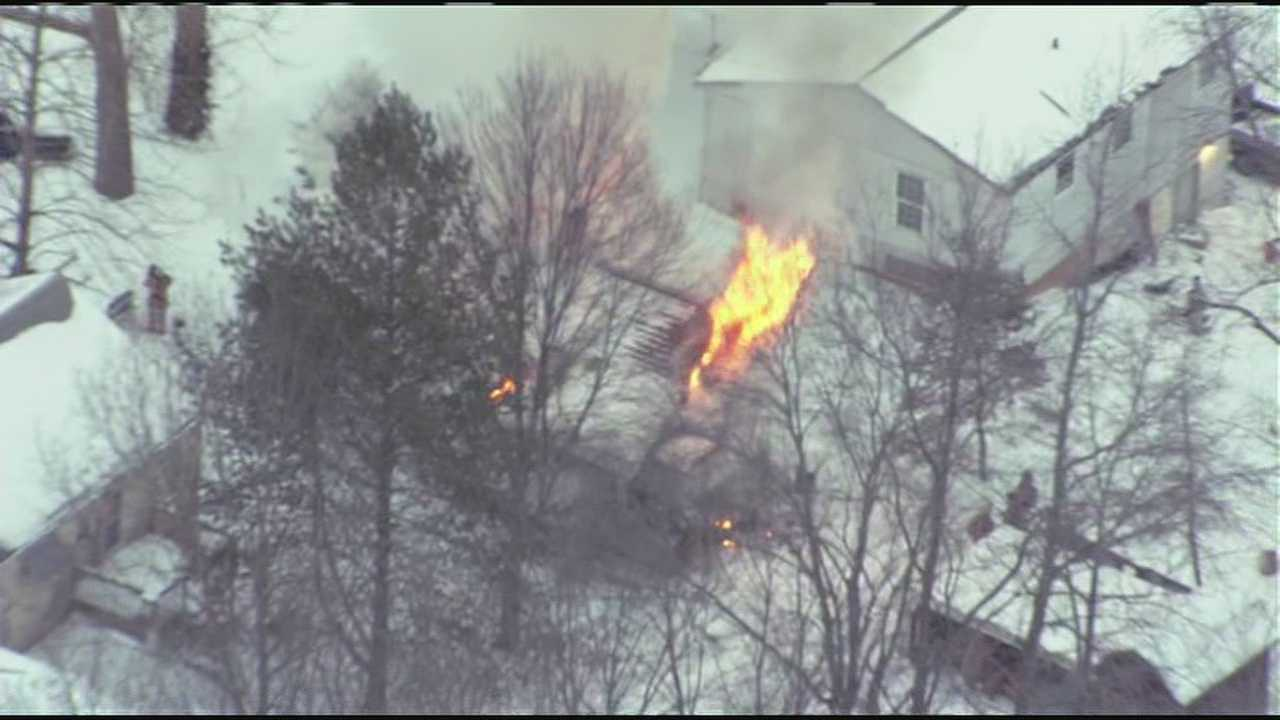 Independence house fire