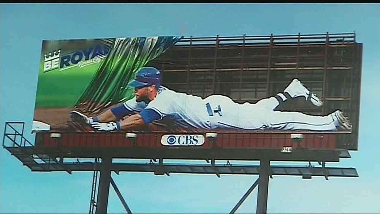 Alex Gordon billboard