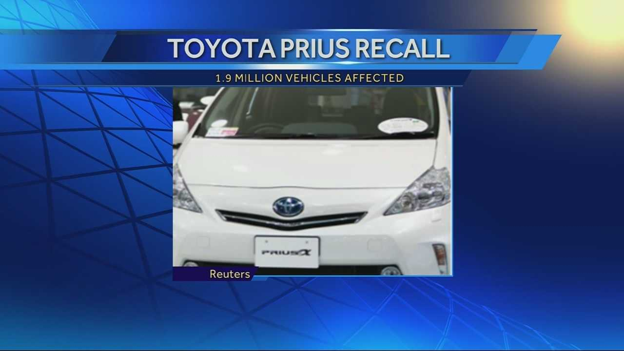 Toyota Prius recall