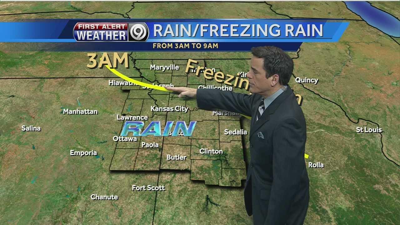 Image Pete Freezing rain map