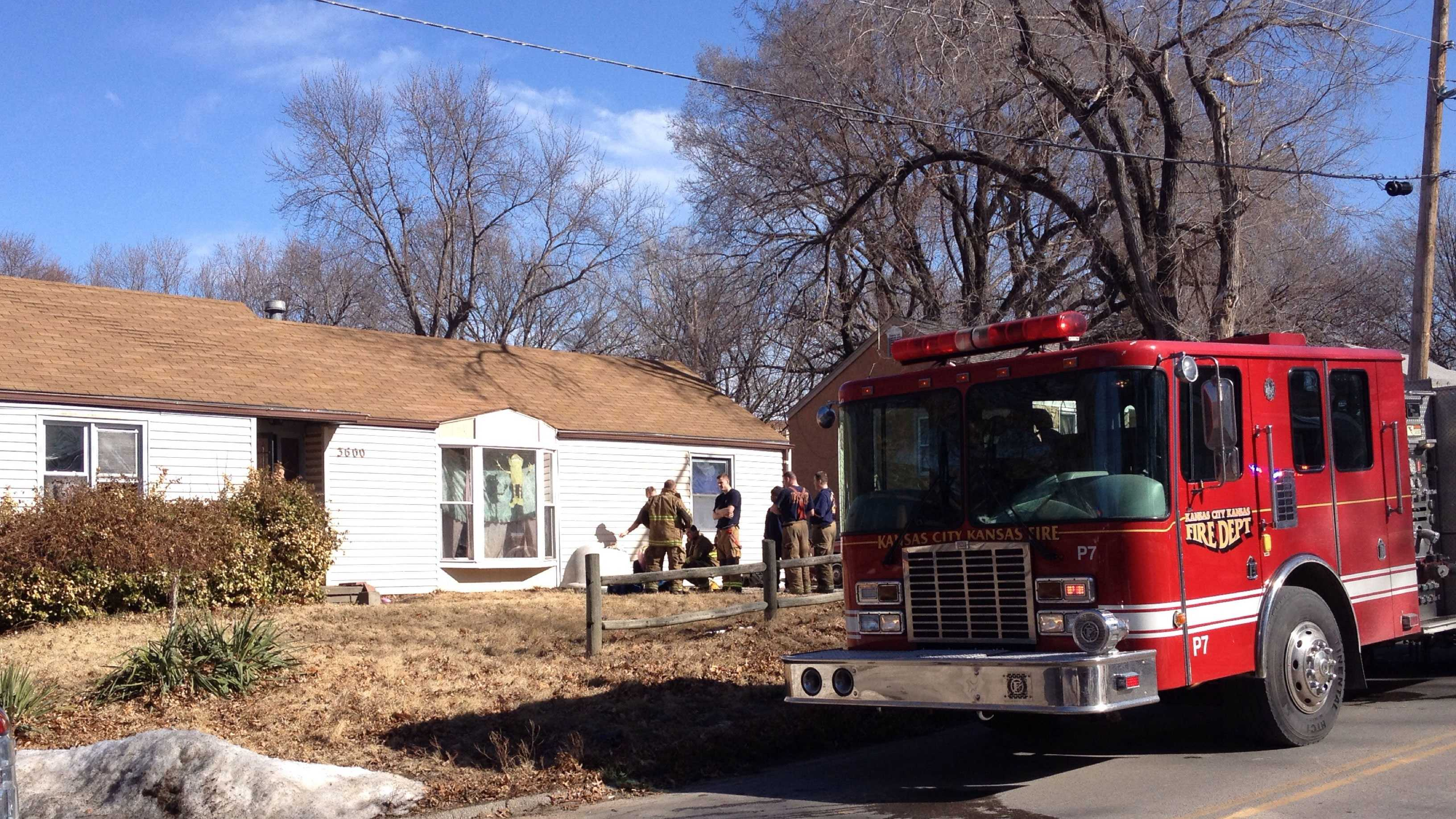House fire, 3600 Shawnee Drive