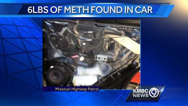 Image Meth found in car in Saline County