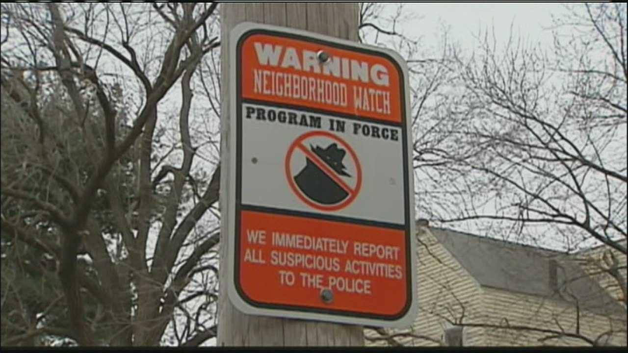 Image Neighborhood watch sign