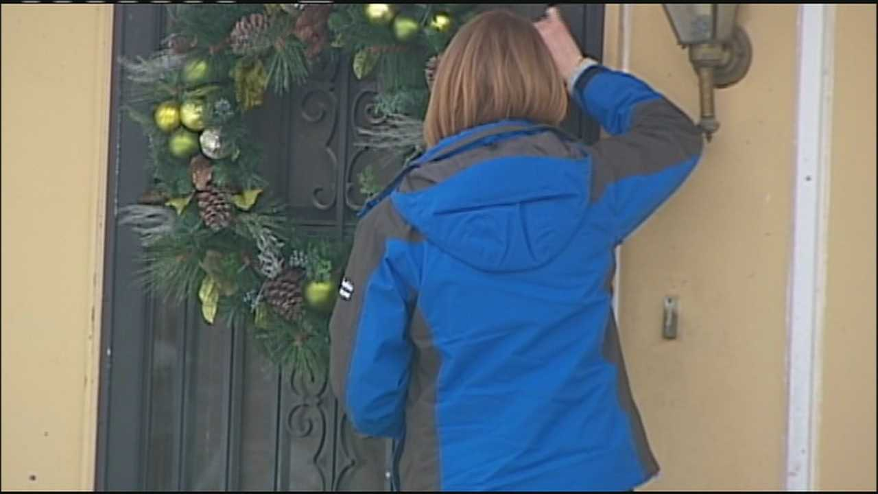 Image Haley knocks on Mark Roth's door