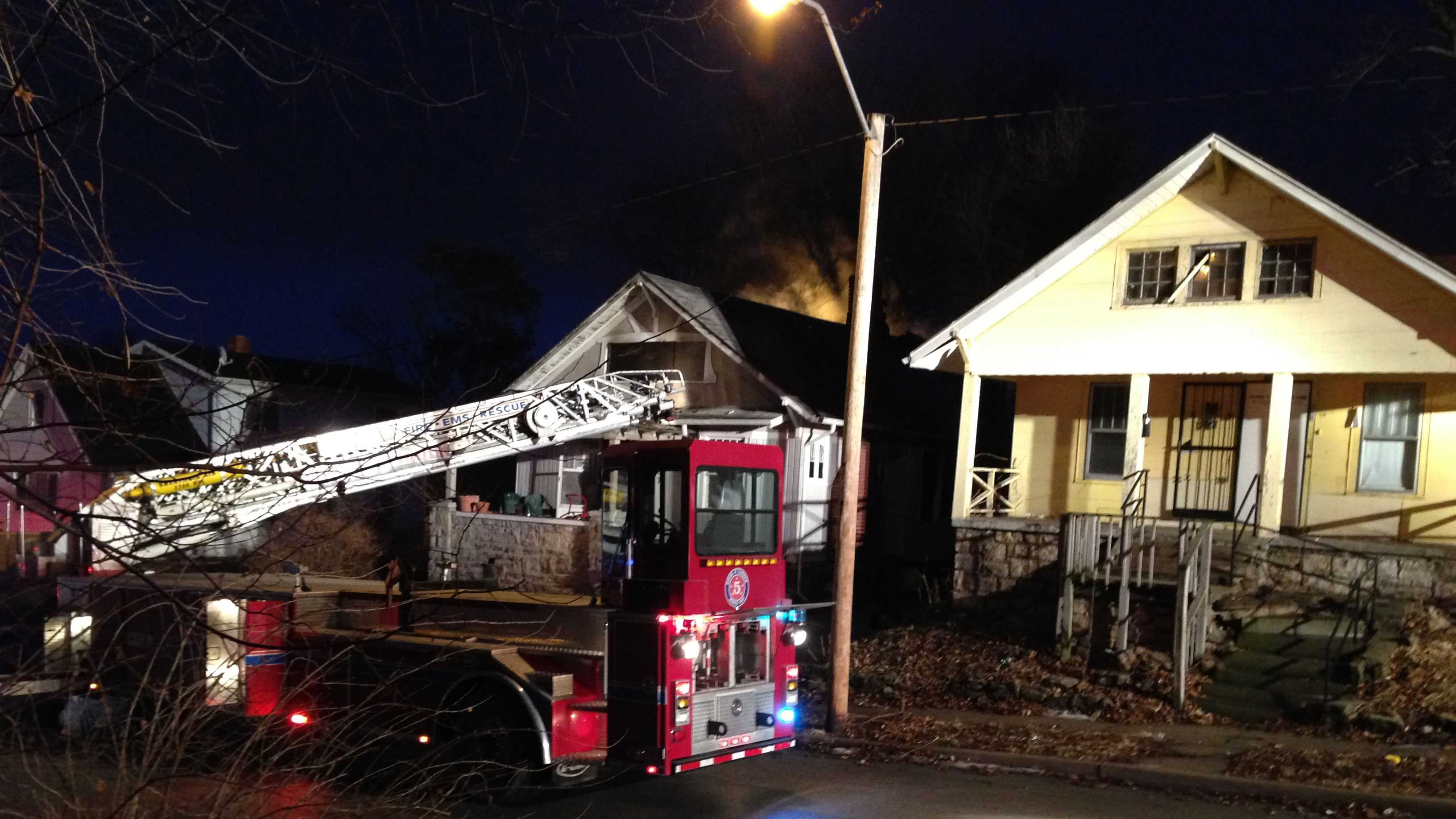House fire 34th, Askew