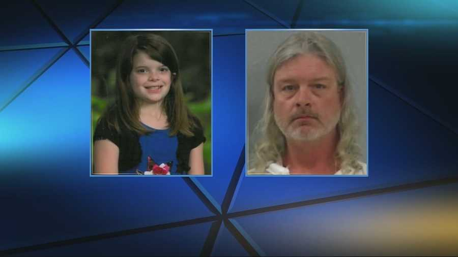 Late Wednesday: A probable cause statement said the fourth-grader's body was found stuffed in two trash bags inside plastic storage containers in the basement of Wood's Springfield home. She had been shot in the head, according to Greene County Prosecuting Attorney Dan Patterson.