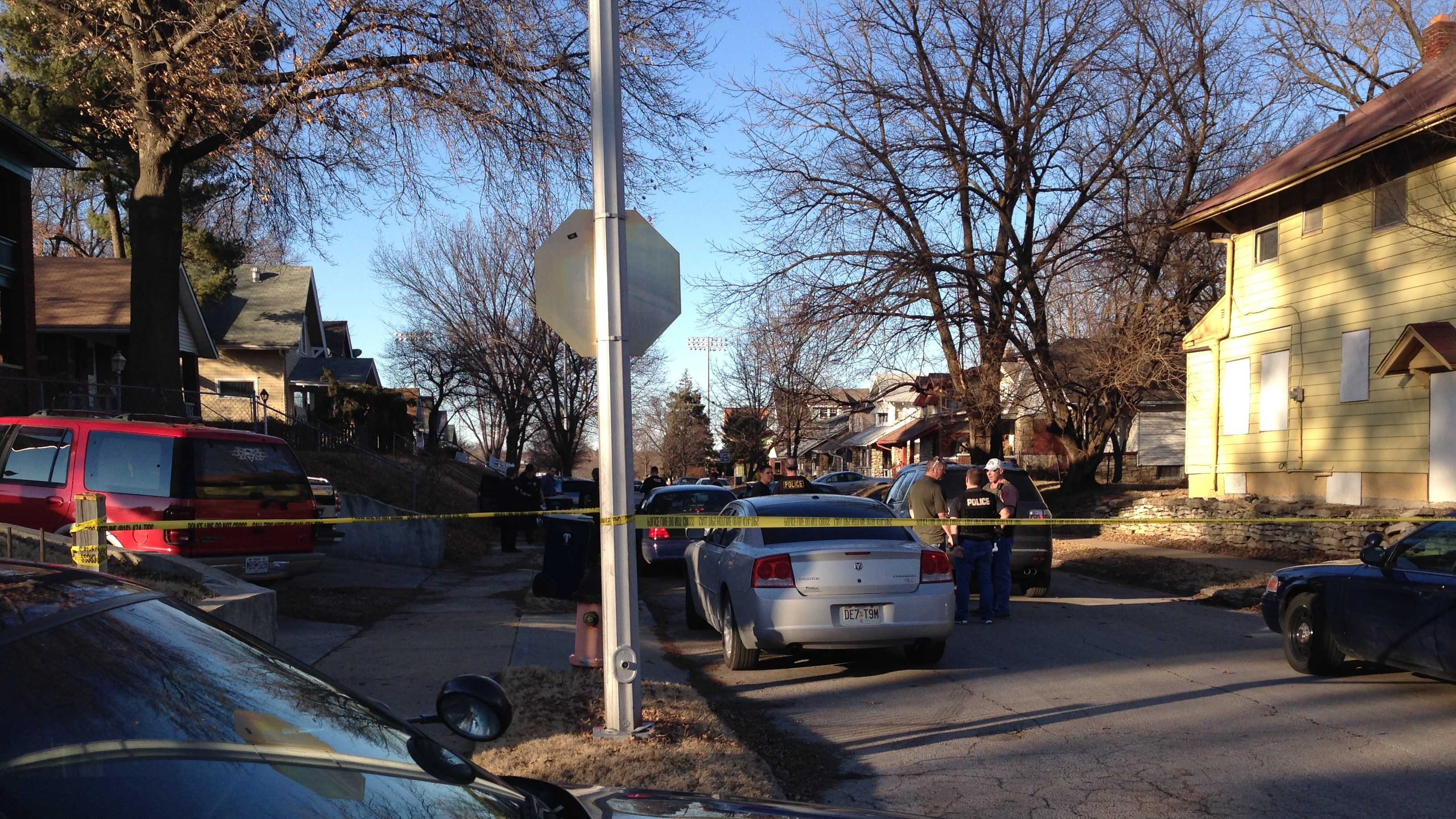 A chase with police ended at 55th Street and Virginia Avenue.