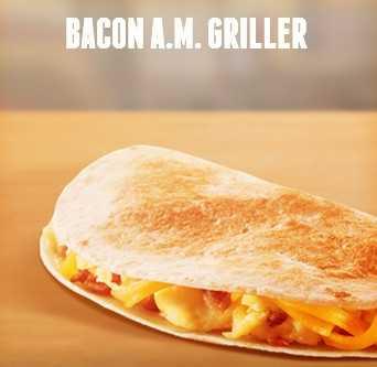 Bacon a.m. griller