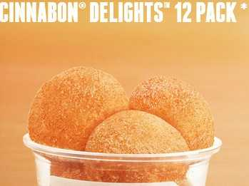 Cinnabon Delights 12 pack