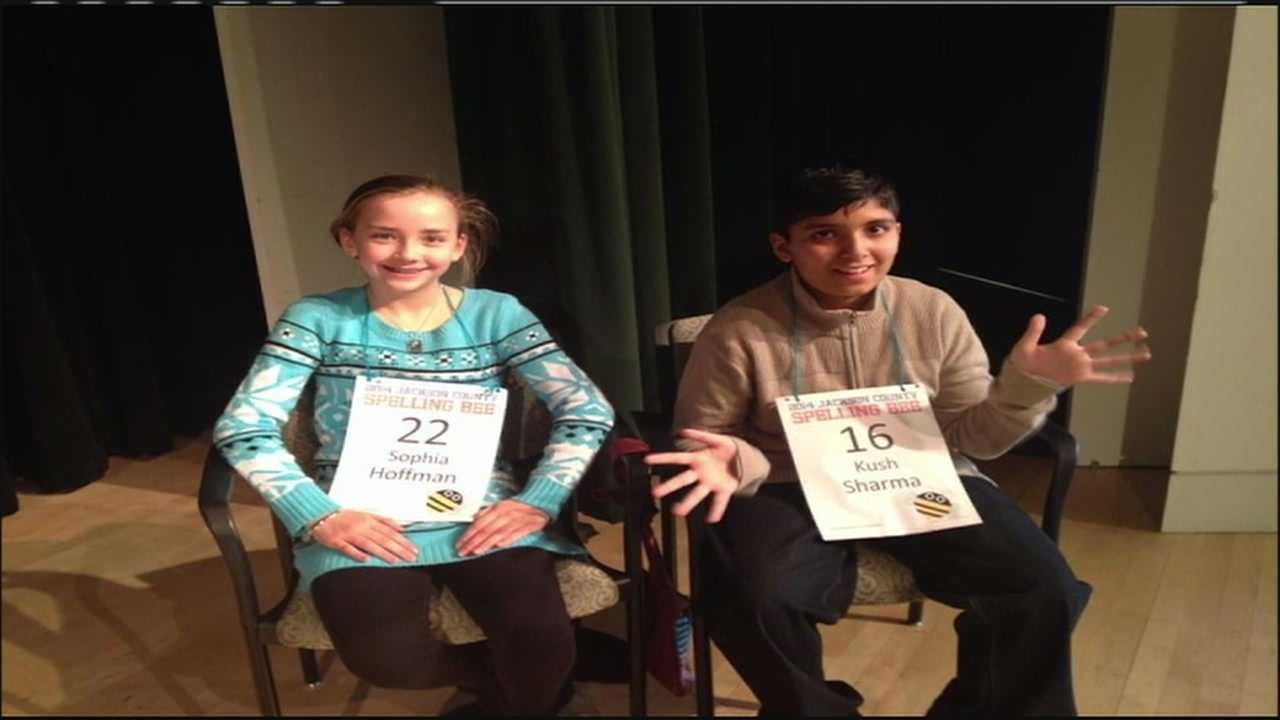 "Two young spelling bee contestants from the Kansas City area are heading for an appearance on ""Good Morning America"" Tuesday after a stalemate in the finals that went on so long that the judges ran out of words."