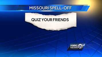 Two young spellers, Lee's Summit fifth-grader Sophia Hoffman, and Kansas City seventh-grader Kush Sharma, went head-to-head in a spelling bee battle that covered 66 grueling rounds with more than 300 words.Think you can do better? Quiz your friends with eight words used in the Jackson County Spelling Bee and ask them to correctly use the words in a sentence.
