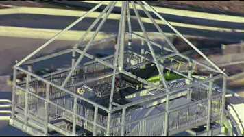 Smaller versions of the water slide are being built in other water parks in the Schlitterbahn family, but the company says this one will be the tallest.