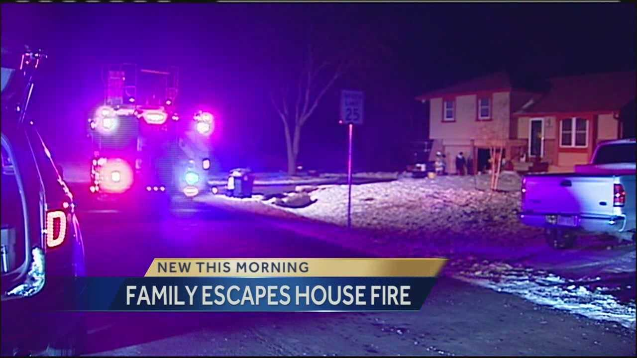 House fire 180th, Lone Elm Road