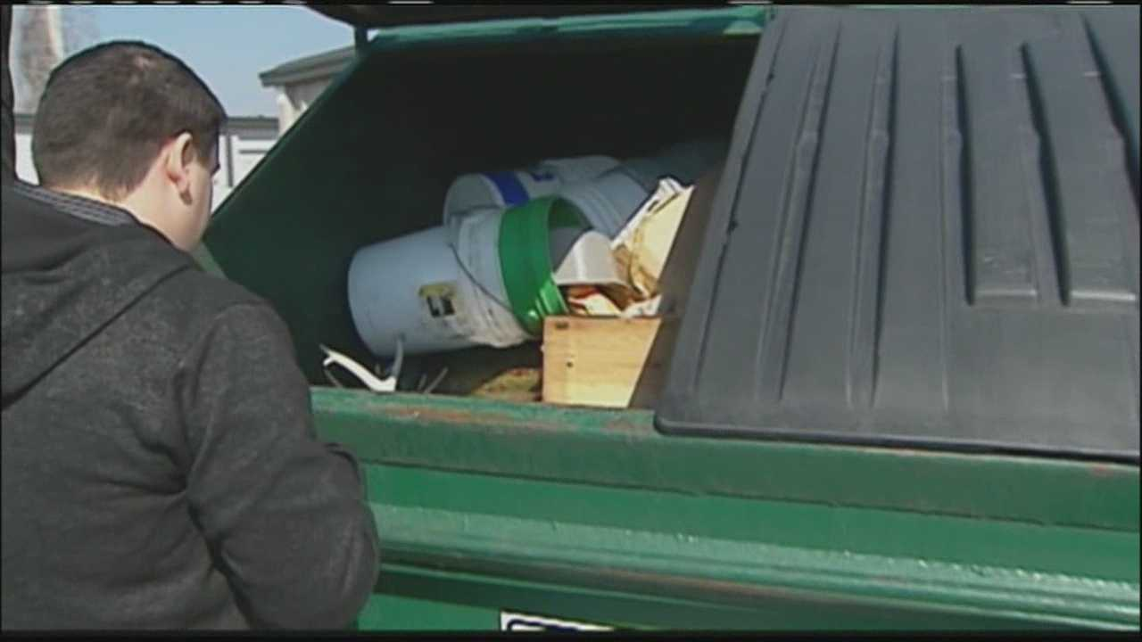 A man who had put some of his belongings in a storage unit while he and his mother moved said the storage company's maintenance crew mistook his unit for an abandoned one and threw those belongings in a dumpster.