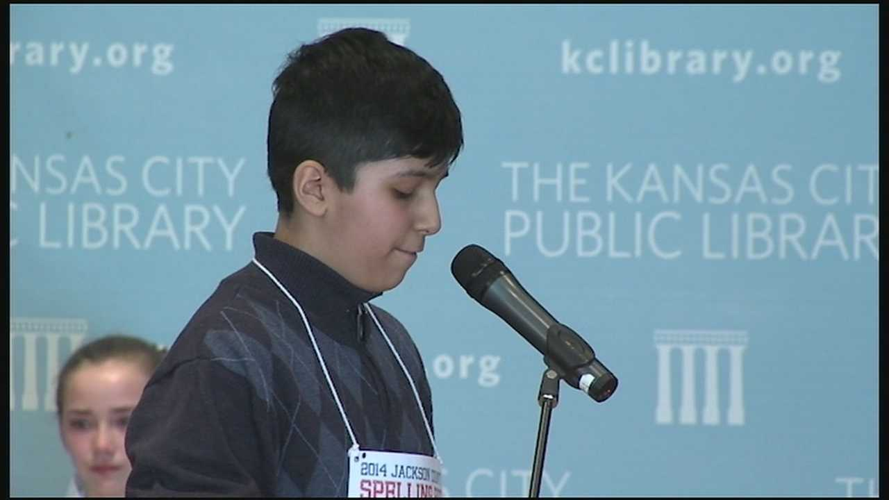 A spelling bee that had to carry over into a second day after a long-running tie forced the judges to run out of words ended Saturday when Kush Sharma outlasted Sophia Hoffman.