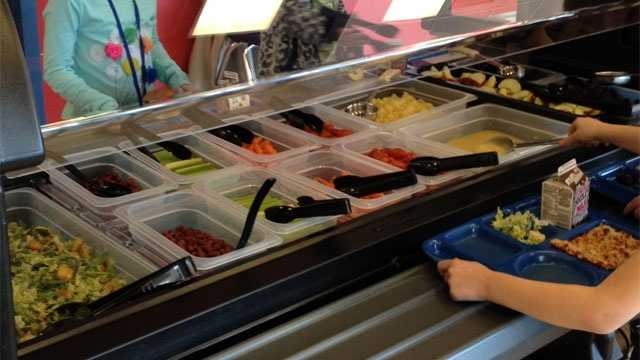 Image De Soto school lunches