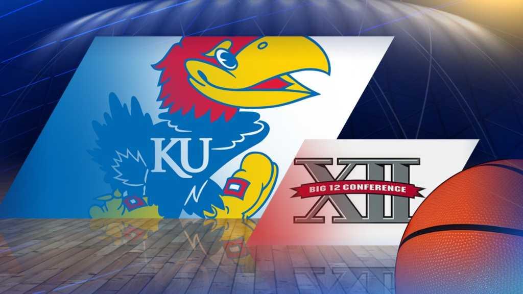 Kansas basketball Big 12 logo