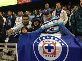 Cruz Azul fans #KMBCSeen at Sporting Park