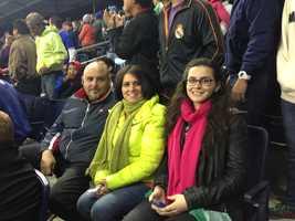 Sporting KC families #KMBCSeen at Sporting Park