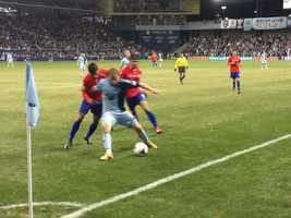 Sporting KC shields off Cruz Azul with a tight 1-0 victory Wednesday night.