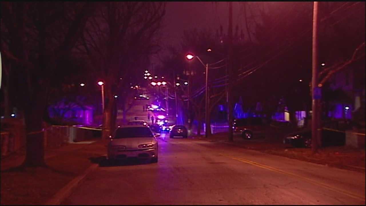 Image Woodland Avenue homicide scene