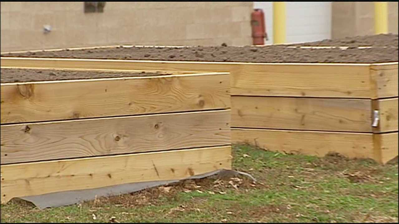 A Shawnee church and a Shawnee elementary school are teaming up to plant and tend a community garden.