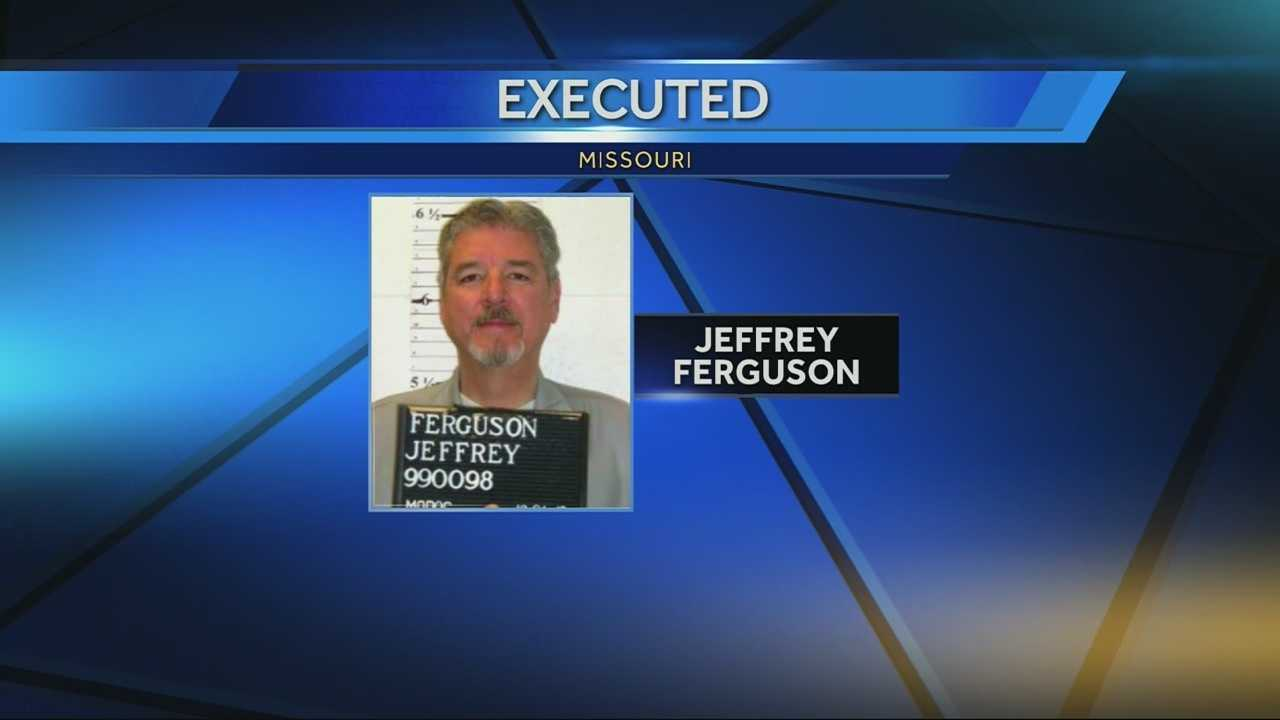 Jeffrey Ferguson executed for 1989 rape, murder