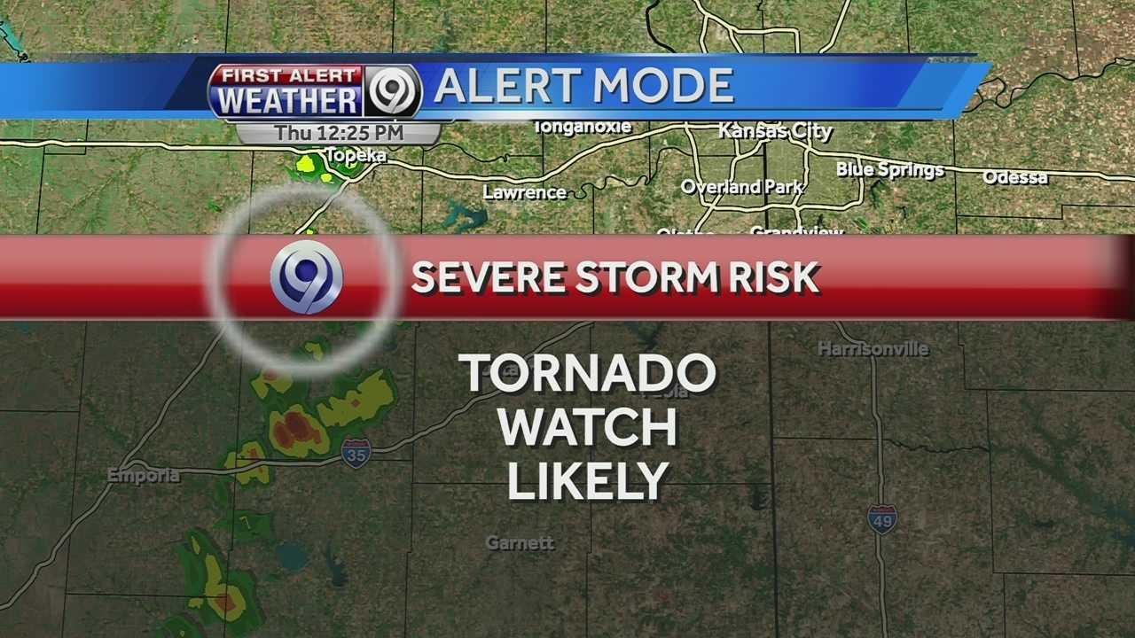 Tornado watch likely