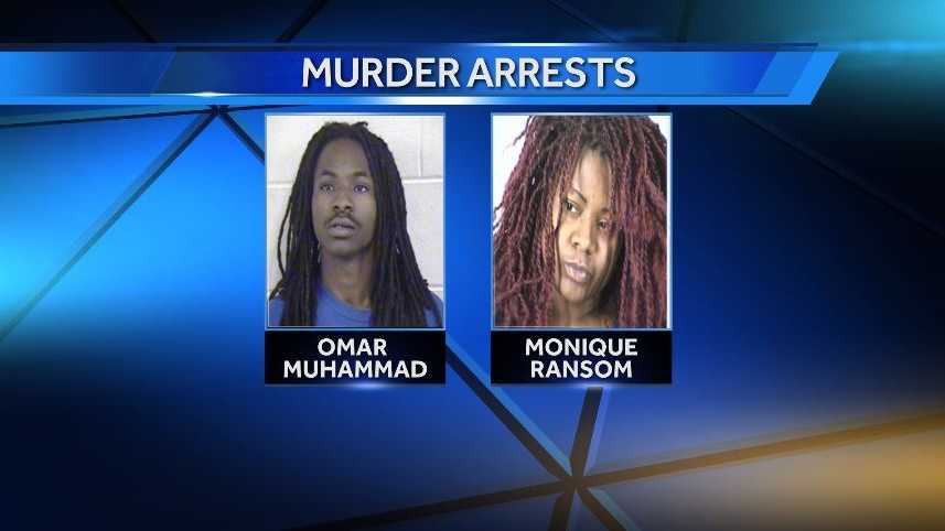 Omar Muhammad and Monique Ransom face charges of 2nd degree murder and armed criminal action.
