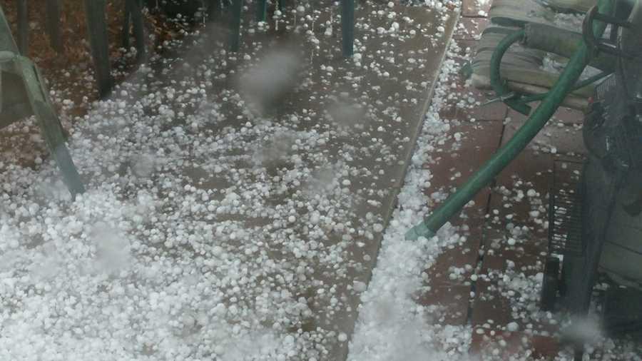 Hail in Raytown