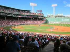 4) Fenway Park, Boston, Massachusetts