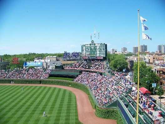 8) Wrigley Field, Chicago, Illinois