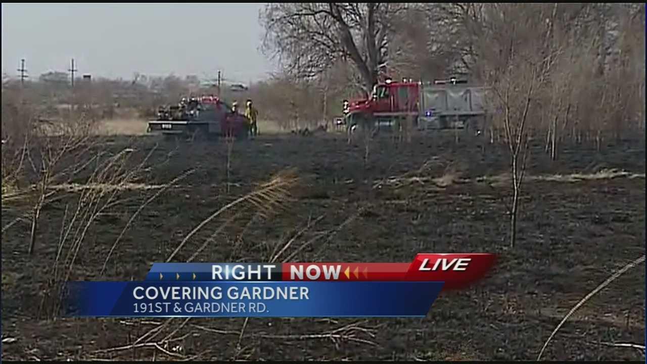 Image Gardner grass fire