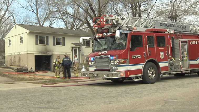The fire caused smoke damage throughout the home.