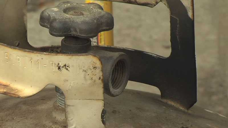 Experts urged propane users to empty tanks in open spaces far away from any ignition sources.