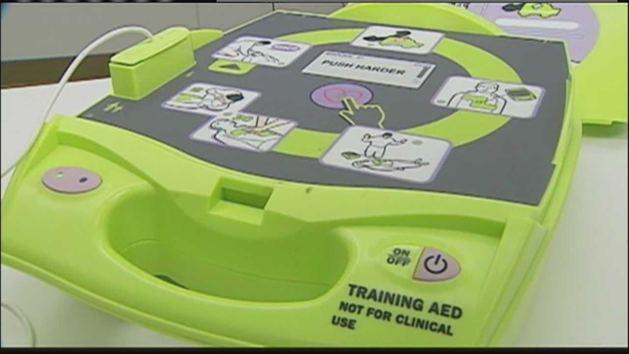 Image AED defibrillator
