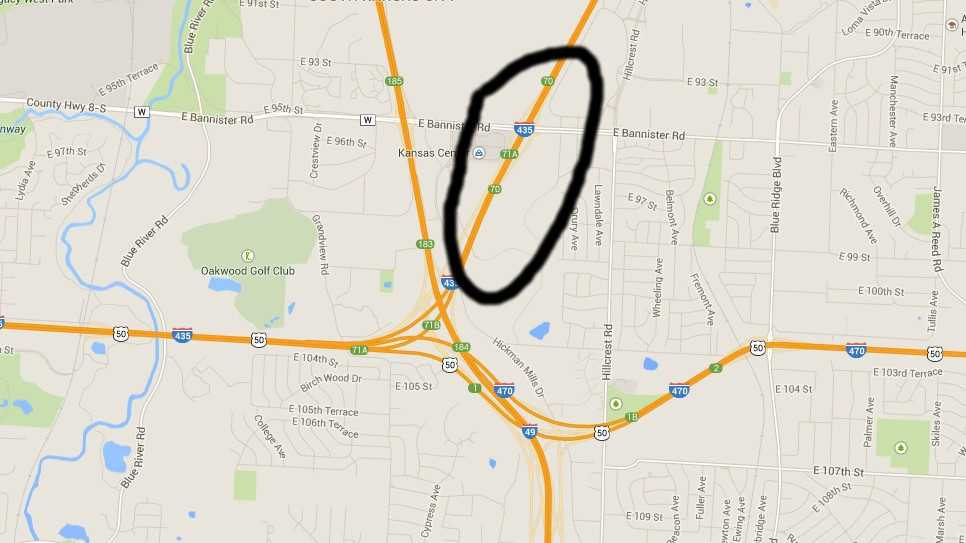 Maps: Locations of random highway shootings