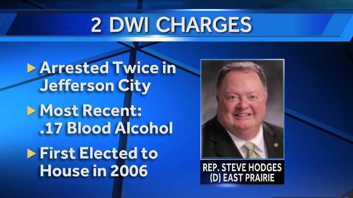 Image Steve Hodges DWI charges