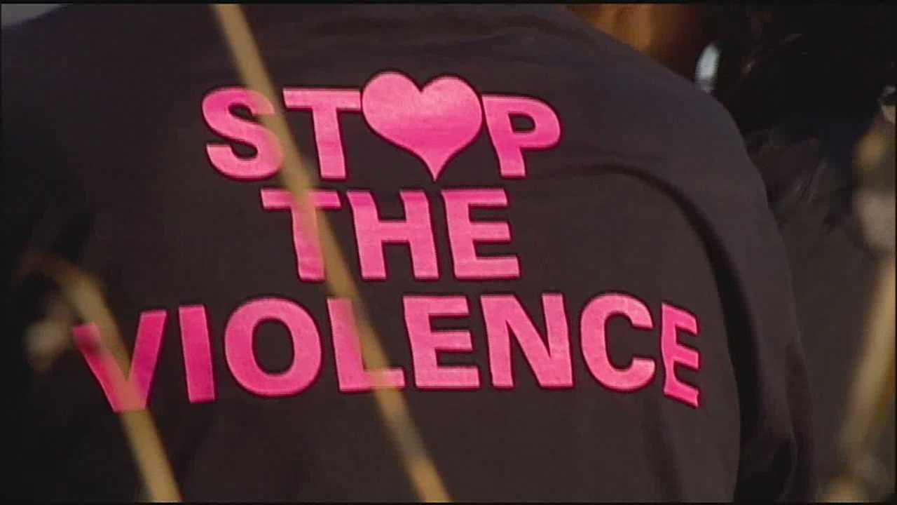 Mothers who have all lost children to homicide hit the streets in Kansas City Monday to try to spread a message of peace, hoping other families don't have to endure the same pain.