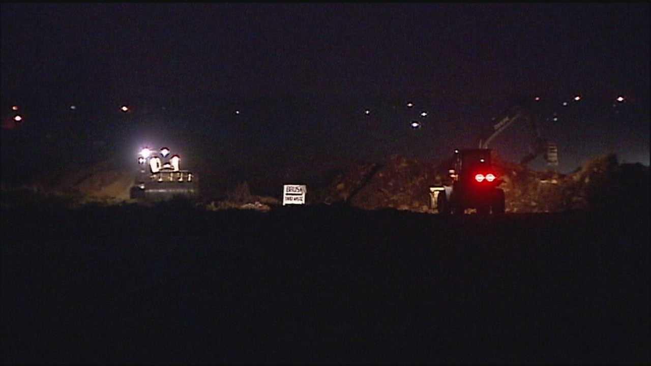 Image Lee's Summit landfill fire