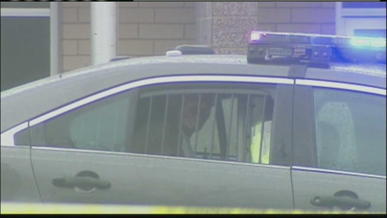 Camera picks up suspect's rant in back of police car