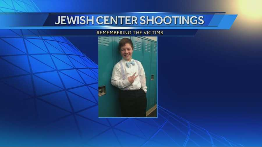 Images of JCC shooting victim Reat Underwood. Underwood was a freshman at Blue Valley High School.