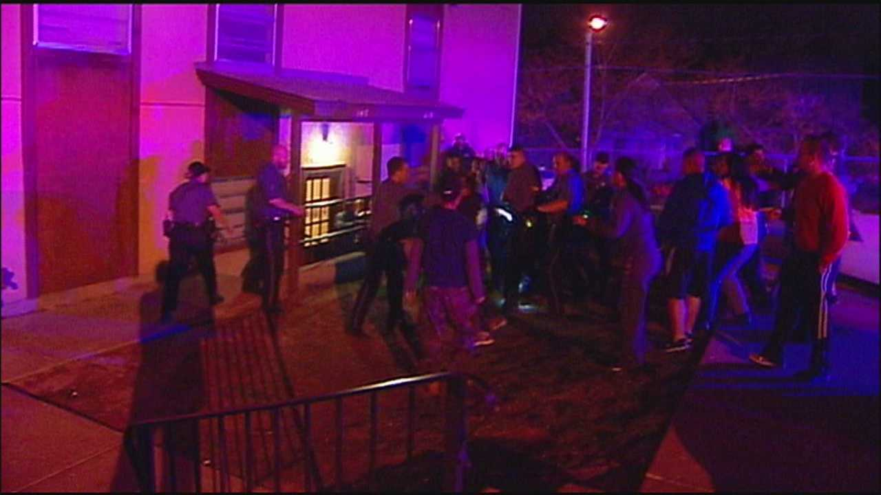 Brawl in search for 12-year-old