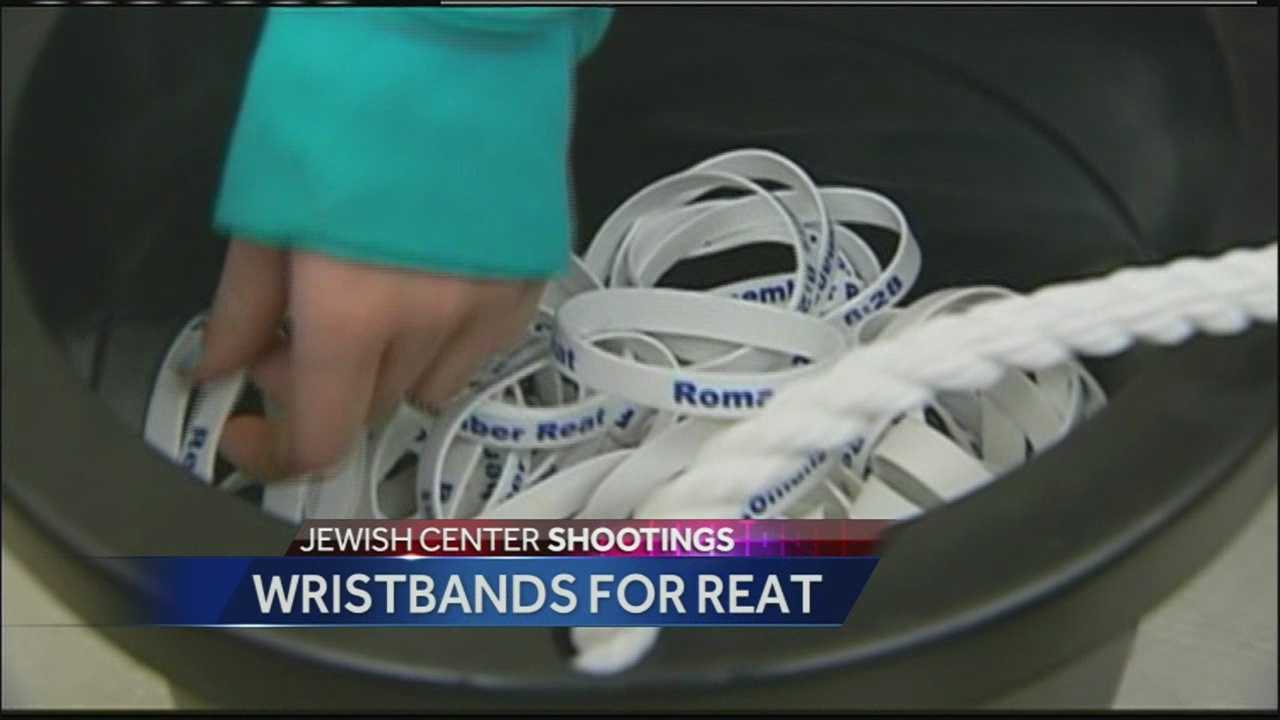 Friends of Reat Underwood are selling memorial wristbands to remember their fallen friend and classmate.