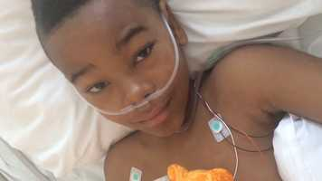 Ka'Vyea Tyson remains in a hospital after the shooting Friday at the BP station near 45th Street and Cleveland Avenue.