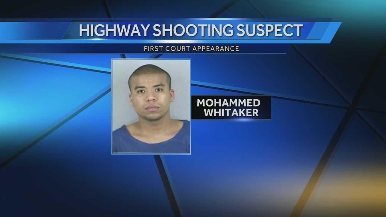 Highway shooting suspect gets public defender