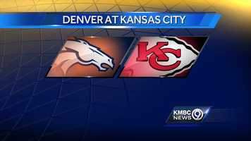 WEEK THIRTEEN: The Denver Broncos will play the Kansas City Chiefs at Arrowhead on Sunday, Nov. 30 on Sunday Night Football.