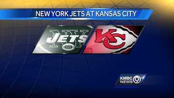 WEEK NINE: The New York Jets will play the Kansas City Chiefs at Arrowhead on Sunday, Nov. 2 at noon.